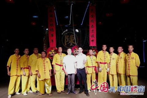 国家历史文化非遗——陈姓线狮传承者