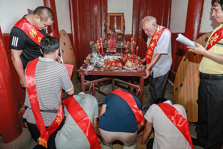 福建永安贡川陈氏二O一九年秋祭大典隆重举行 !